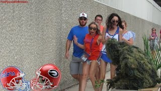 BUSHMAN PRANK AT FLORIDA GATORS VS GEORGIA BULLDOGS