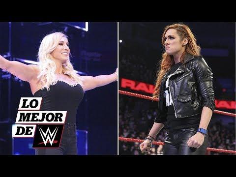 Becky Lynch es sustituida por Charlotte Flair en WrestleMania 35: Lo Mejor de WWE