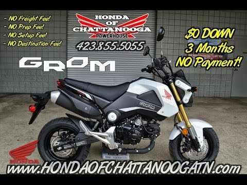 White 2015 honda grom for sale chattanooga tn ga al for Honda motorcycle dealers in tennessee