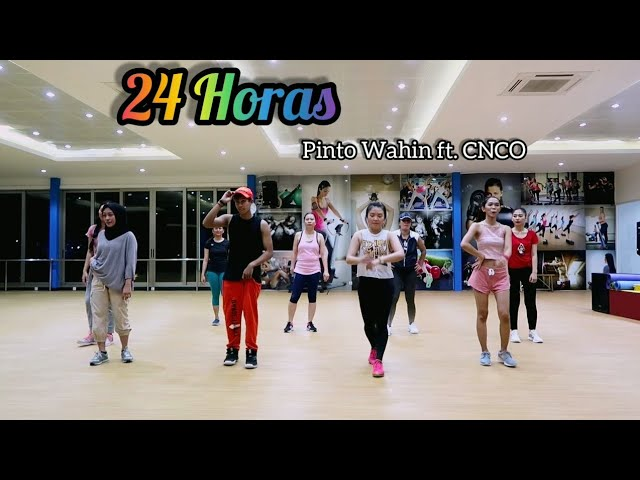 Pinto Wahin - 24 Horas ft. CNCO | ZUMBA | FITNESS | At Global Sport Balikpapan
