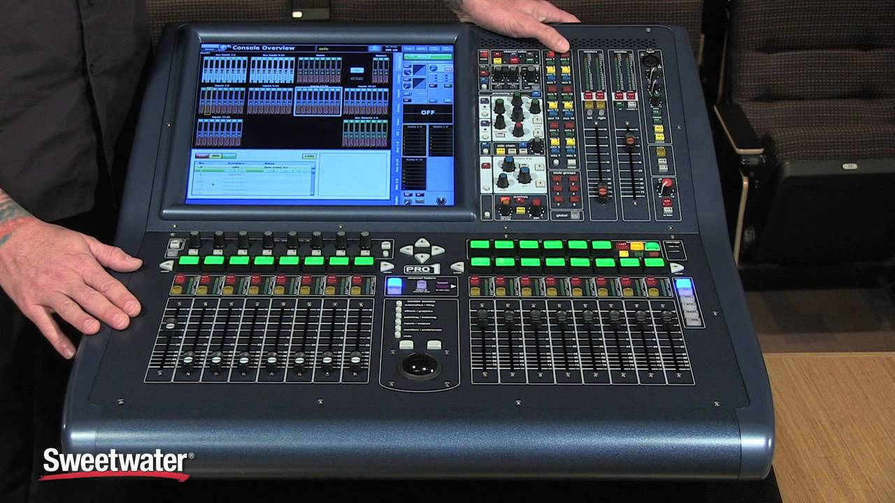 midas pro1 digital mix console review sweetwater sound youtube. Black Bedroom Furniture Sets. Home Design Ideas