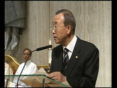 MaximsNewsNetwork: U.N. MASS FOR HAITI BAN KI-MOON S-G (UNTV)