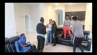 BREAKING UP INFRONT OF COMPANY PRANK!!! ON JAZZ AND TAE AND ARMON AND TREY