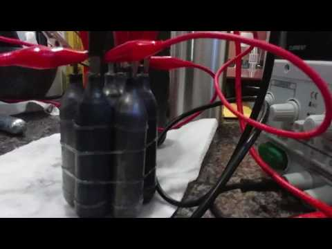 HHO fuel cell... test phase number 4 theory of concept!