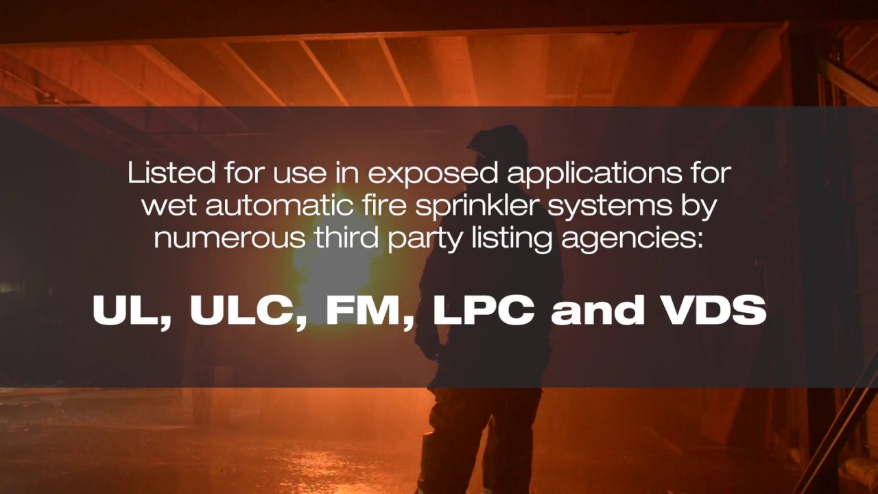 Blazemaster Cpvc Fire Testing Video Eu Youtube