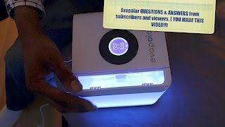 EVAPOLAR personal microclimate-A/C SUBSCRIBER comments /Q&A answered- HERVE