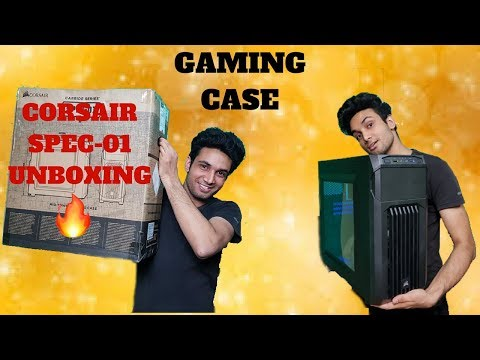 Corsair Carbide Spec 01 Unboxing Best Budget Gaming Case For Pc