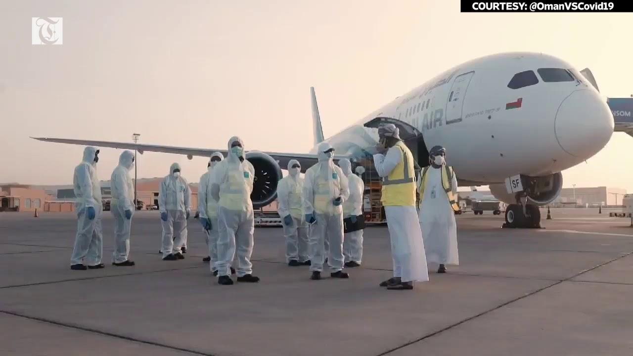 100000 face masks arrive in Oman thumbnail