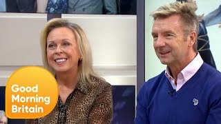 Ice Skating Legends Torvill and Dean Chat About Their Chemistry Together | Good Morning Britain