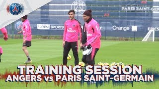 TRAINING SESSION - ANGERS VS PARIS SAINT-GERMAIN