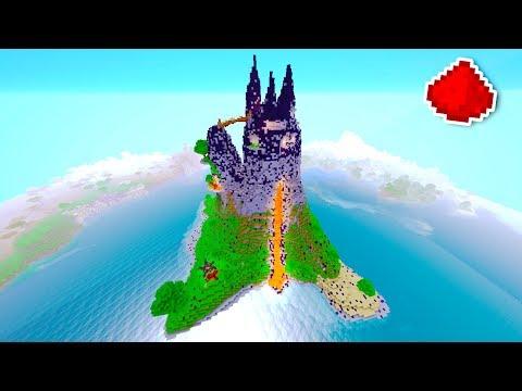 Minecraft - Volcano Redstone House (REDSTONE BASE)