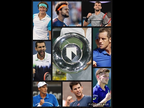 ATP 500 Rotterdam  2017  - ABN Amro World Tennis Tournament - Analysis & Prediction