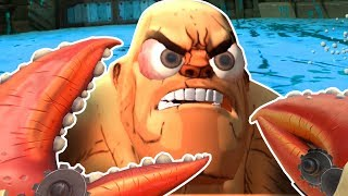 DESTROYED BY THE CRAB KING!!! - Gorn Gameplay | HTC Vive