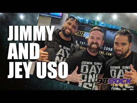 Jimmy and Jey Uso In Studio