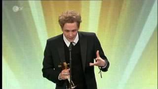 Gambar cover Matthias Schweighöfer: Bester Schauspieler national, Goldene Kamera (30.01.2010, Berlin)