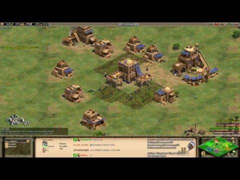 Aoe2 African Kingdoms: Expert 3v3s #2 (Game 4/5) (Epic Game)