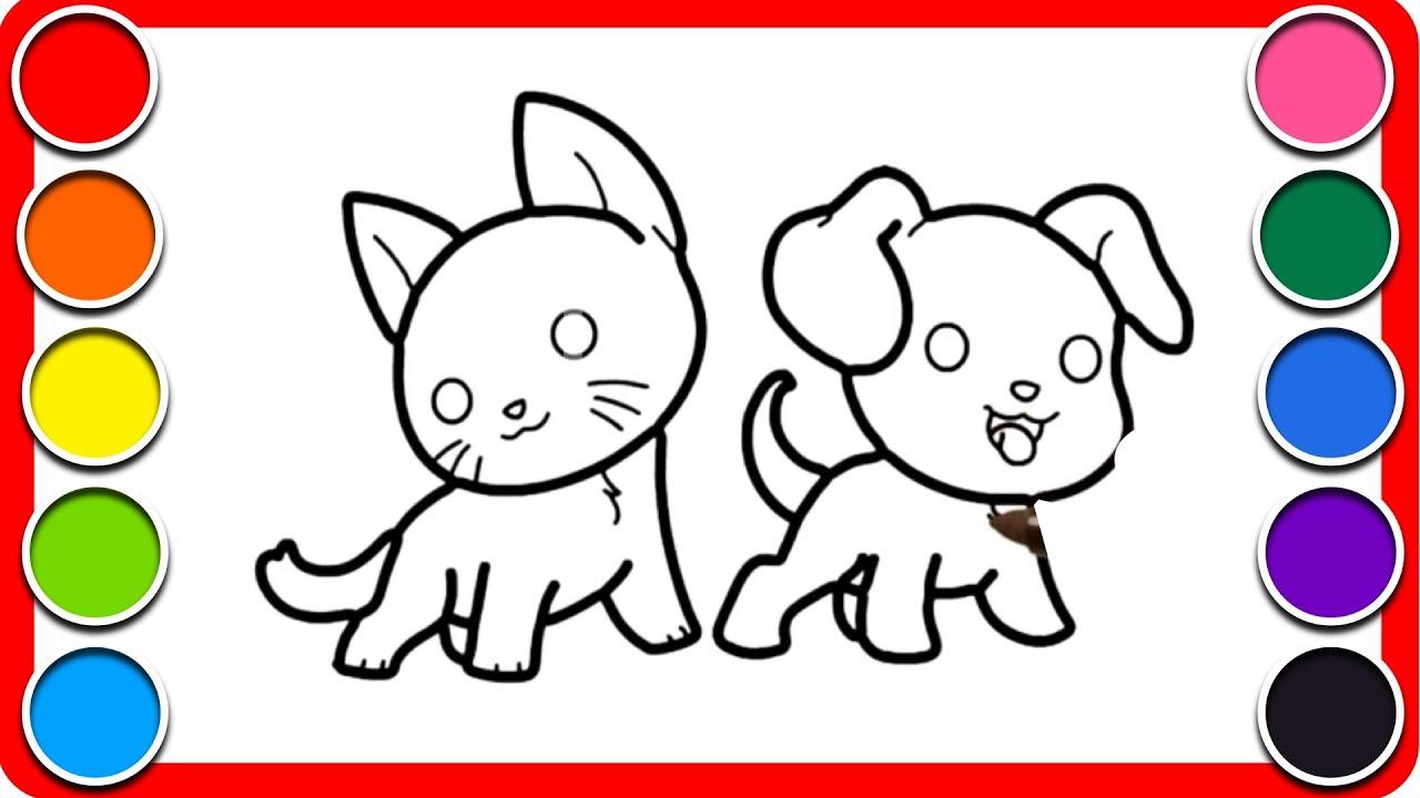 87 Gambar Kucing Mewarnai Terbaik Gambar Pixabay
