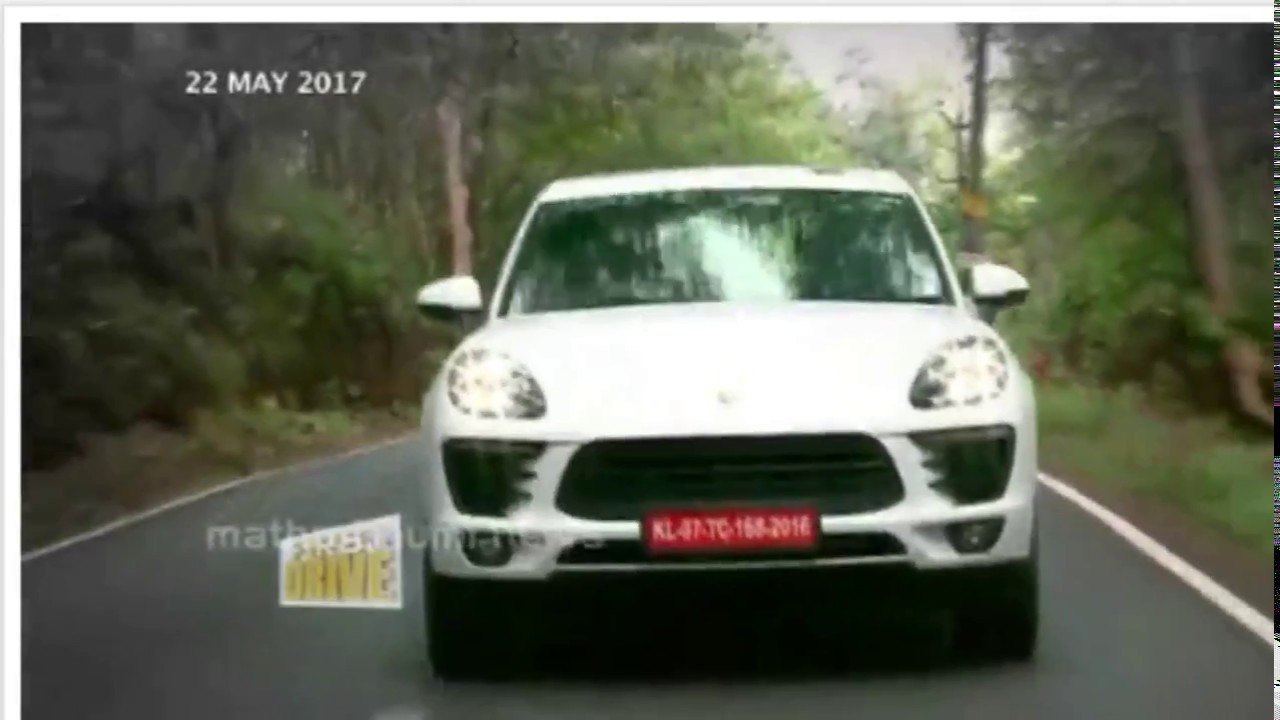 Porsche Macan India First Drive Specifications Colors Review