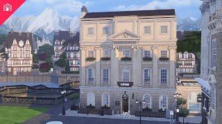 Windenburg House - Boutique Hotel | Windenburg Renovation | The Sims 4: Speed Build