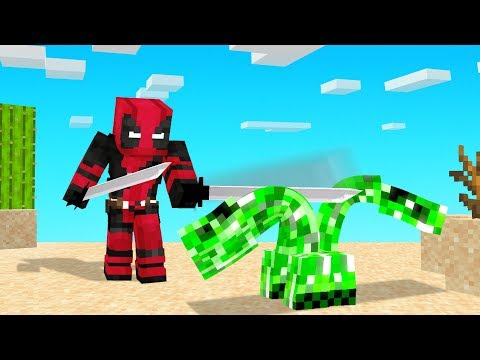Playing MINECRAFT As DEADPOOL!
