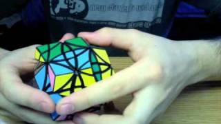 Edge-Turning Rhombic Dodecahedron