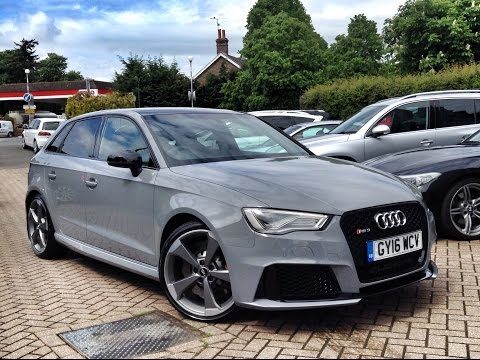 Audi RS3 2.5 TFSI Sportback S Tronic Quattro for Sale at CMC-Cars, Near Brighton, Sussex