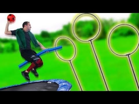 NERF Quidditch Challenge!
