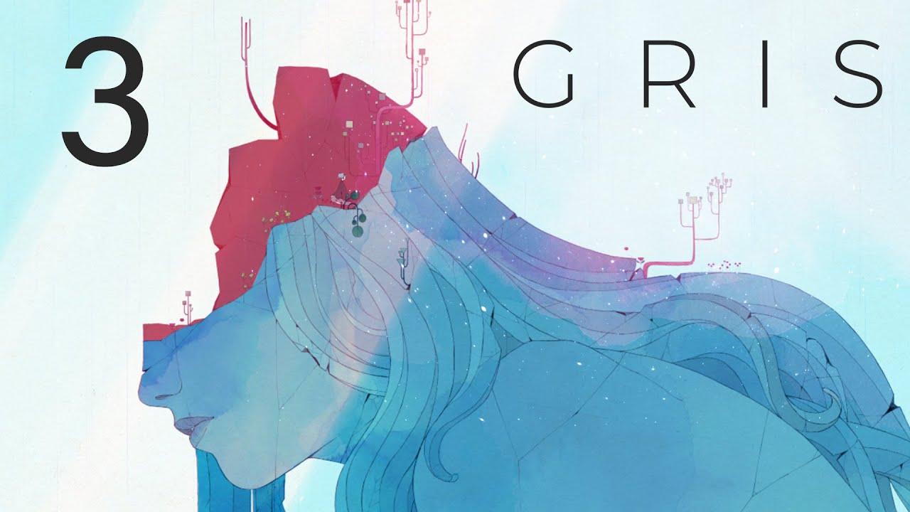 GRIS - Прохождение игры на русском - Запись стрима [#3] | PC
