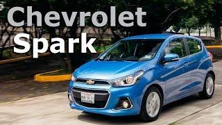 Chevrolet Spark 2016 a prueba