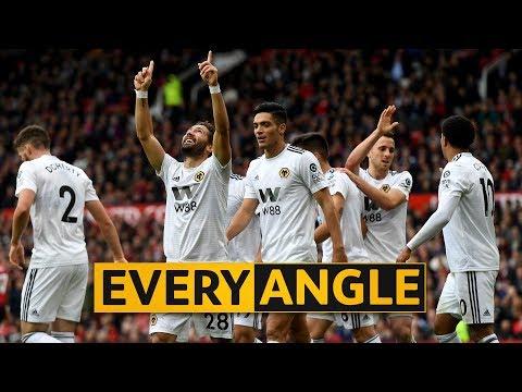 Moutinho v Manchester United | Every Angle