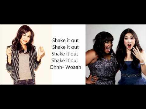 Glee - Shake it out Lyrics