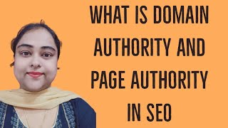 What is Domain Authority and Page Authority in SEO | OFF Page SEO 2020
