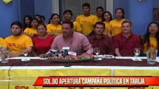 SOL.BO APERTURA CAMPAÑA POLÍTICA EN TARIJA