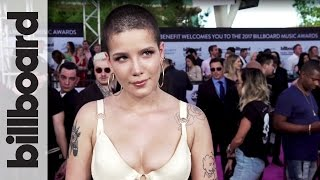 Halsey on Her First Solo Performance at an Awards Show | Billboard Music Awards 2017