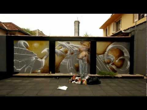 diestro • Graffiti art Asunción - Paraguay