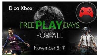 [Dica Xbox] Dias para jogar de graça (PUBG, PES 2019, Live Gold)