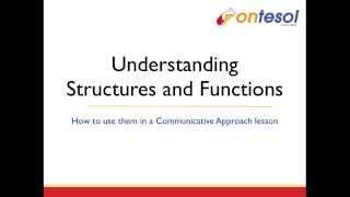 Teaching Grammar: Understanding Structures and Functions