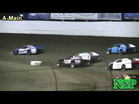 August 25, 2018 Modifieds A-Main Grays Harbor Raceway
