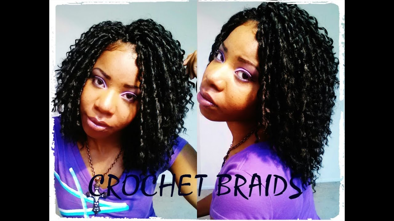 Crochet Braids Okc : How to: Crochet Braids Installation (Protective Style) - YouTube