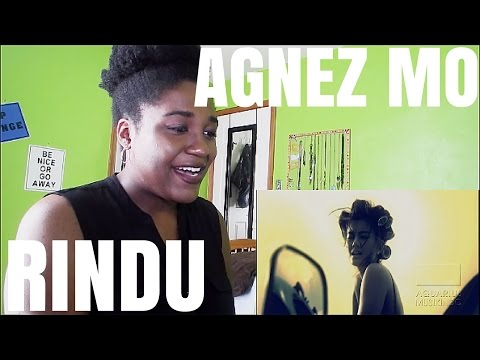 Agnez Mo - Rindu | MV REACTION