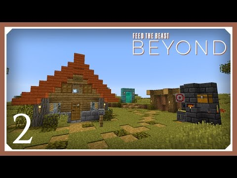 FTB Beyond | Thermal Expansion + Solar Panels! | E02 (Modded Minecraft 1.10.2 Survival Let's Play)