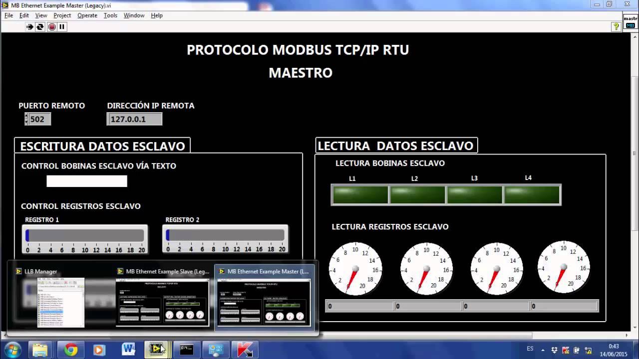 MODBUS TCP IP - YouTube