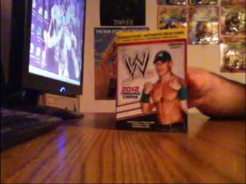 WWE 2012 Topps trading cards box opening #2