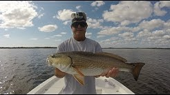 Light Tackle Fishing For Back Country Red Fish Jacksonville Florida