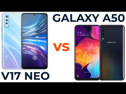 Vivo V17 NEO Vs Samsung Galaxy A50. Сравнение!☀️☀️☀️