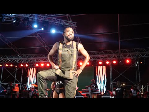 "Machel ""Monk Monte"" Montano Performance at Army Fete 2016"