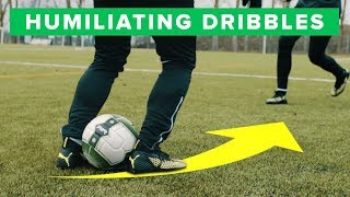 UNISPORT | Learn to destroy your defender | 3 humiliating football dribbles