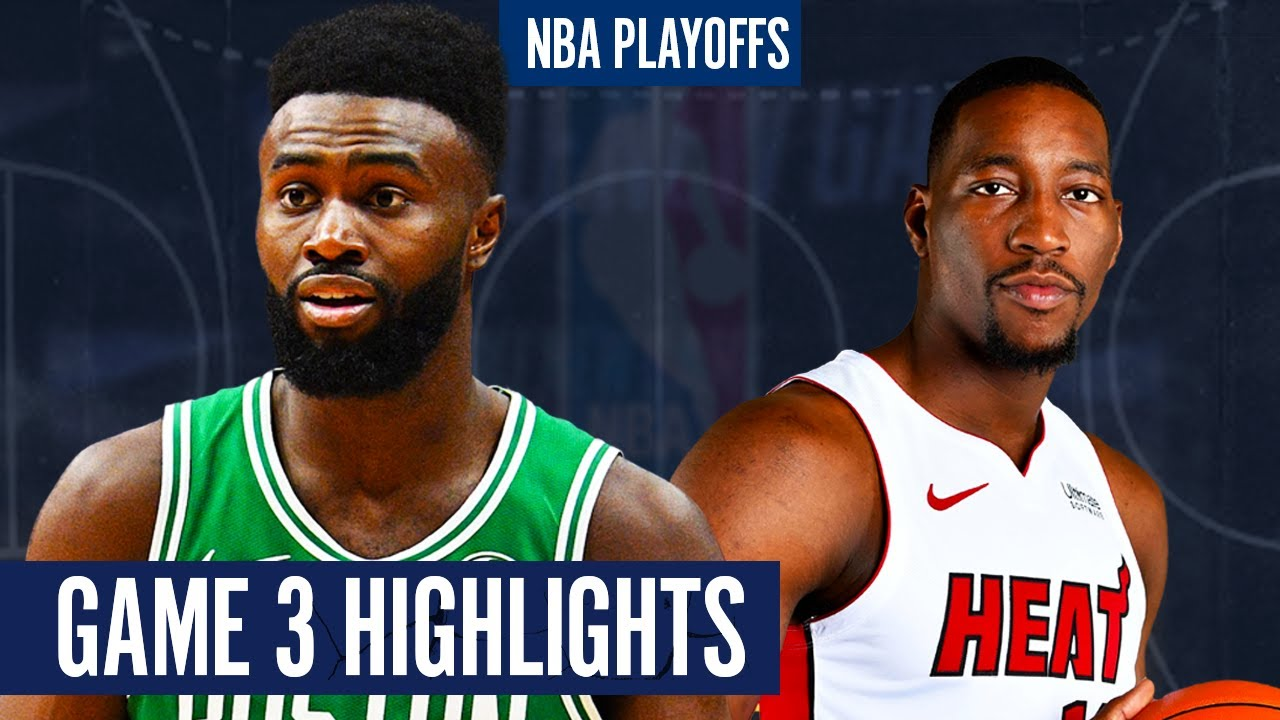 CELTICS vs HEAT GAME 3 - Full  Highlights | 2020 NBA Playoffs