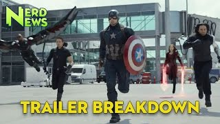 Captain America Civil  War Trailer Breakdown!