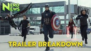 Captain America Civil  War Trailer Breakdown!